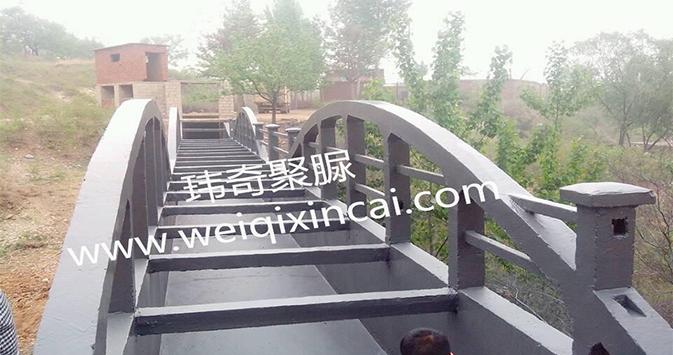 济南市市中区2013年度高标准农田 建设项目三标段渡槽聚脲防水工程